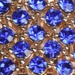 Strass Indaco